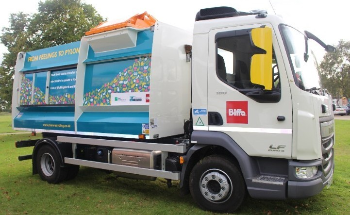 Picture of a new lorry!