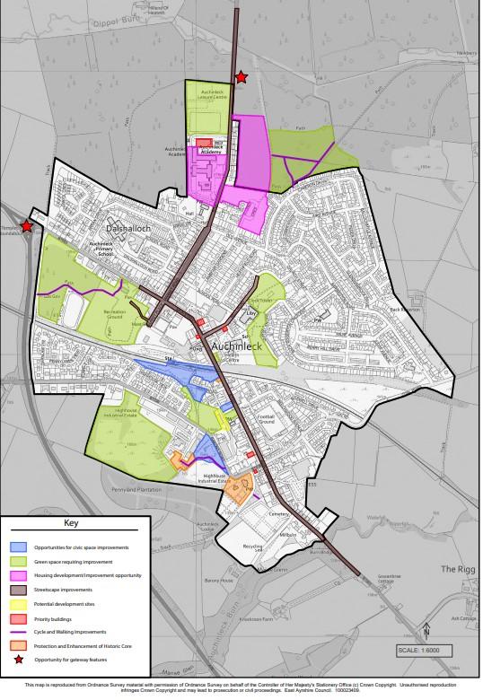 auchinleck place plan