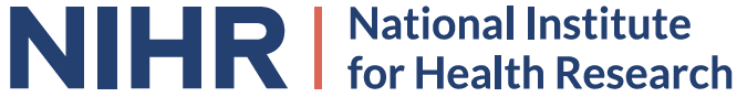 Logo for the National Institute for Health Research NIHR